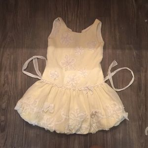 Beautiful Pearls for  Girls 6x Dress  Biscotti